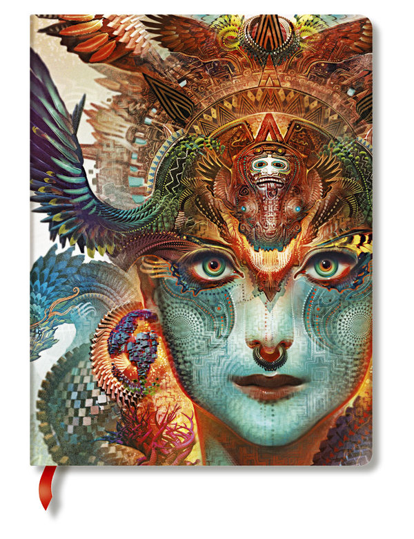 Paperblanks Kollektion Android Jones - Dharma-Drache